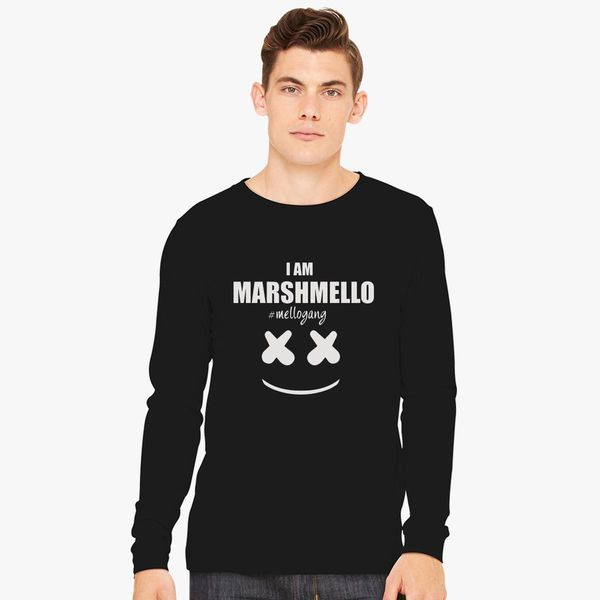 6905cb30 Marshmello The Dj I am Marshmello Mellogang Long Sleeve T-shirt ...
