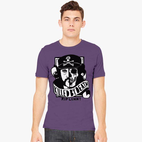 d716e3665 MotorHead - Motörhead Lemmy Killed By Death Rest in Peace Men's T-shirt