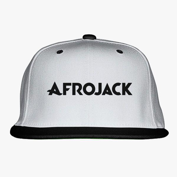 4a950ef4765f8 Afrojack Logo Snapback Hat - Customon