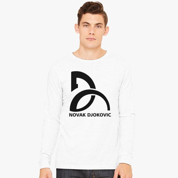 Novak Djokovic Logo Long Sleeve T Shirt Customon