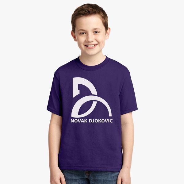 Novak Djokovic Logo Youth T Shirt Customon