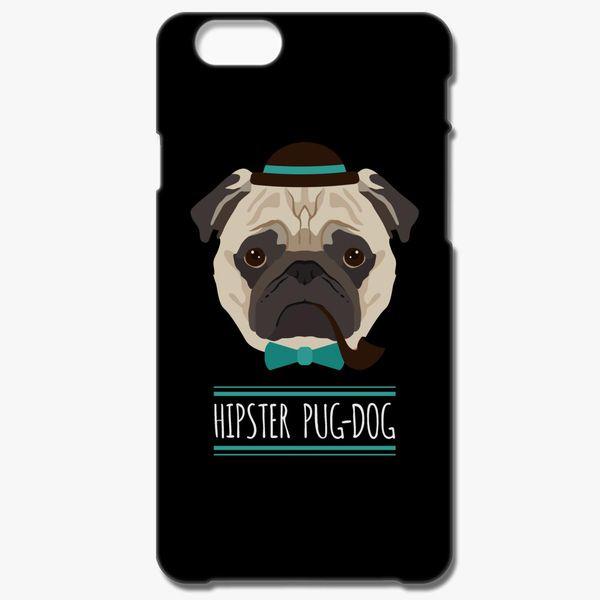 innovative design dea96 270bb Hipster Pug Dog iPhone 6/6S Case - Customon