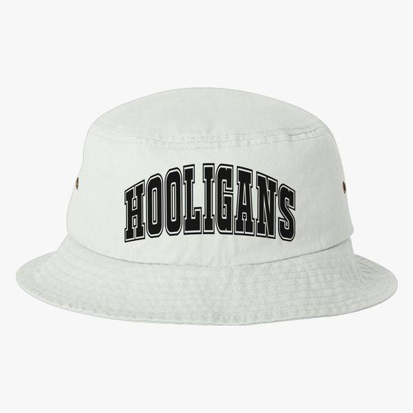 d6fc2b4ee Hooligans Gold Black Bucket Hat (Embroidered) - Customon