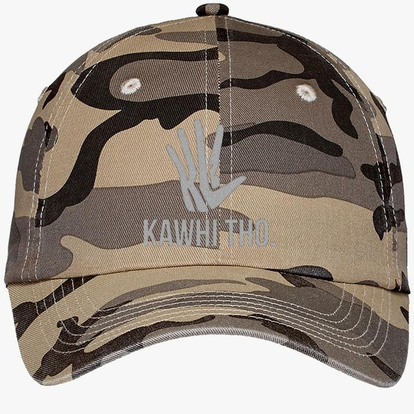 90311d7facd433 KAWHI THO Camouflage Cotton Twill Cap (Embroidered) - Customon
