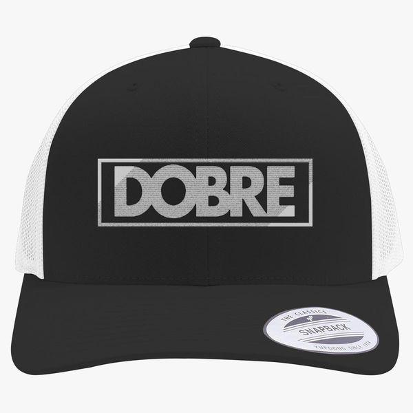 bd2b7e1ece687 Dobre Twins Brothers Logo Retro Trucker Hat (Embroidered) - Customon