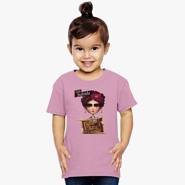 91a30f97d Frida Kahlo Toddler T-shirt - Customon