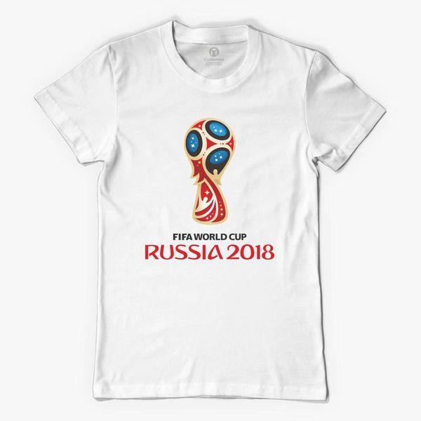 23ec6e634 Fifa World Cup Russia 2018 Women's T-shirt - Customon
