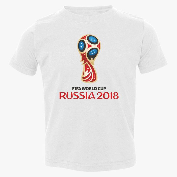 ee4237e1fce Fifa World Cup Russia 2018 Toddler T-shirt - Customon