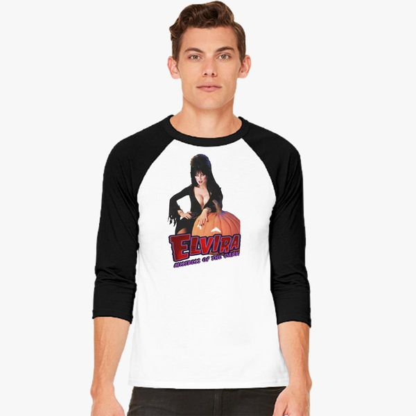 b5c6b6da54 Elvira mistress of the dark Baseball T-shirt - Customon