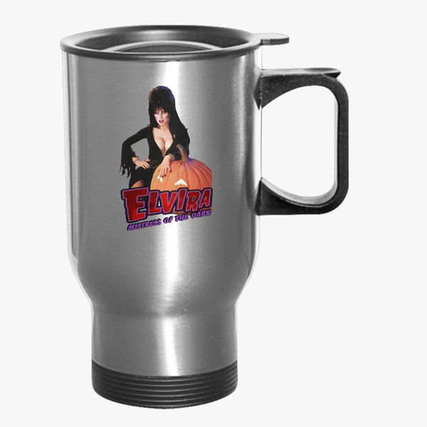 dbc7b3b70b Elvira mistress of the dark Travel Mug - Customon