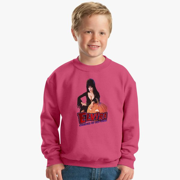 3e9cf62d6d Elvira mistress of the dark Kids Sweatshirt - Customon