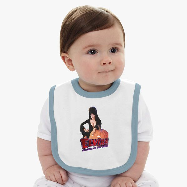 9ae51ac467 Elvira mistress of the dark Baby Bib - Customon