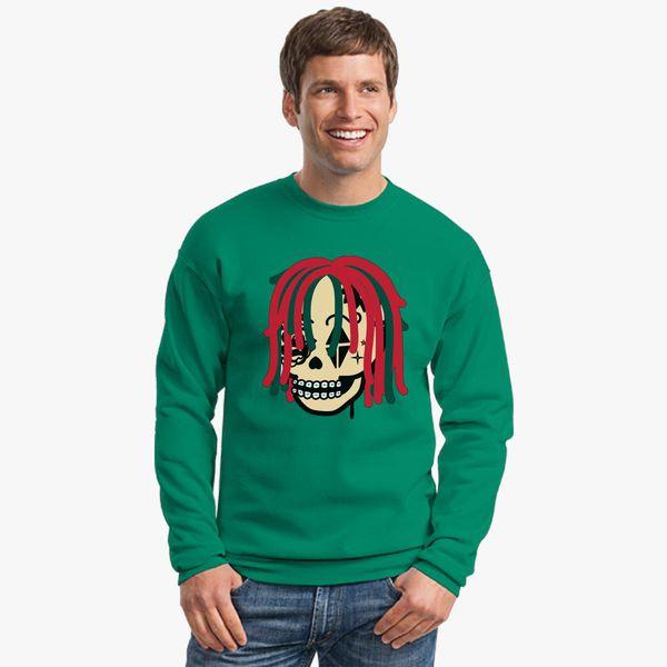 efb9dbbc8b23 Gucci Gang Skull Logo Crewneck Sweatshirt - Customon