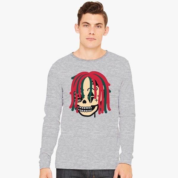 6db720821a81 Gucci Gang Skull Logo Long Sleeve T-shirt - Customon