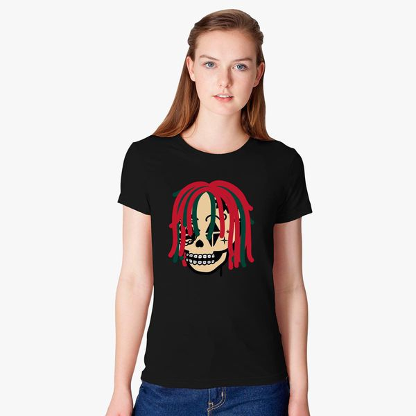 754c1d0eb61 Gucci Gang Skull Logo Women s T-shirt - Customon