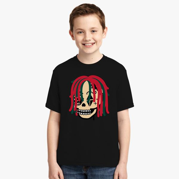 f662f5803b3 Gucci Gang Skull Logo Youth T-shirt - Customon