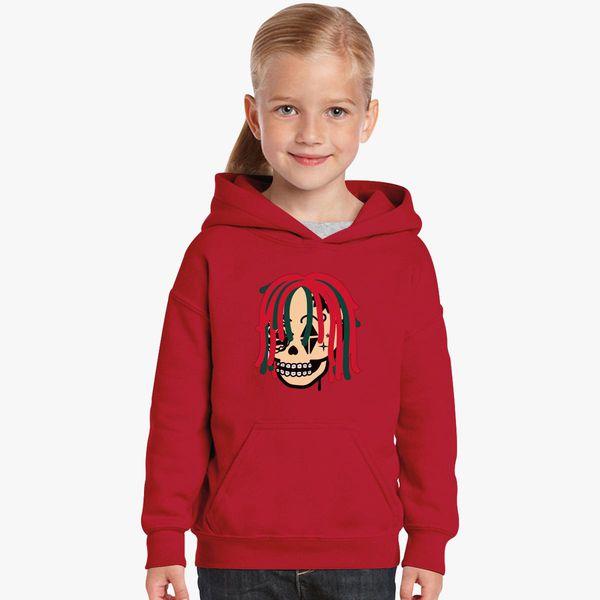 0e53773aa Gucci Gang Skull Logo Kids Hoodie - Customon