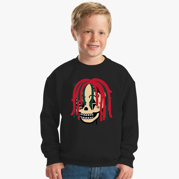 465625124d3 Gucci Gang Skull Logo Kids Sweatshirt - Customon