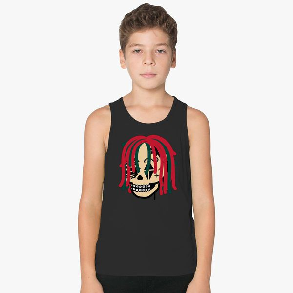 4ea835b7d08 Gucci Gang Skull Logo Kids Tank Top - Customon