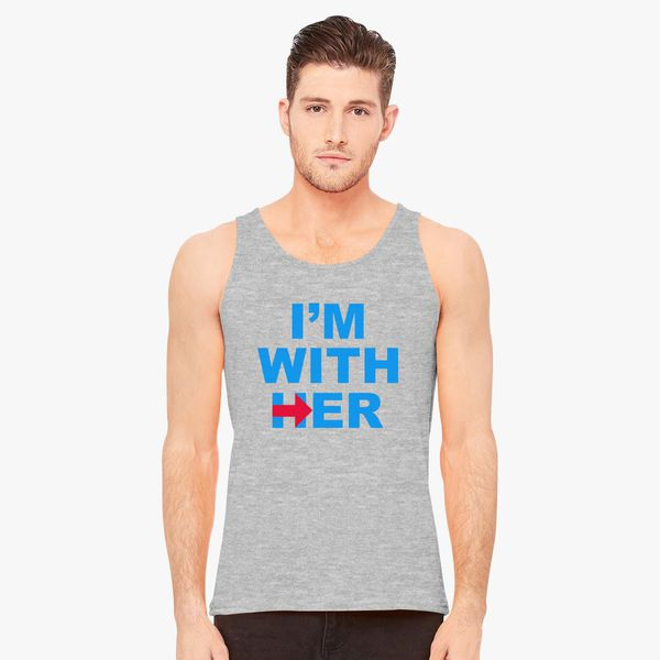 0e1a7ae7a5c79 I m With Her Men s Tank Top - Customon