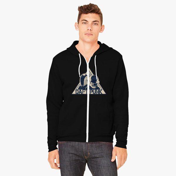 fe5ef049bf Daft Punk Unisex Zip-Up Hoodie - Customon