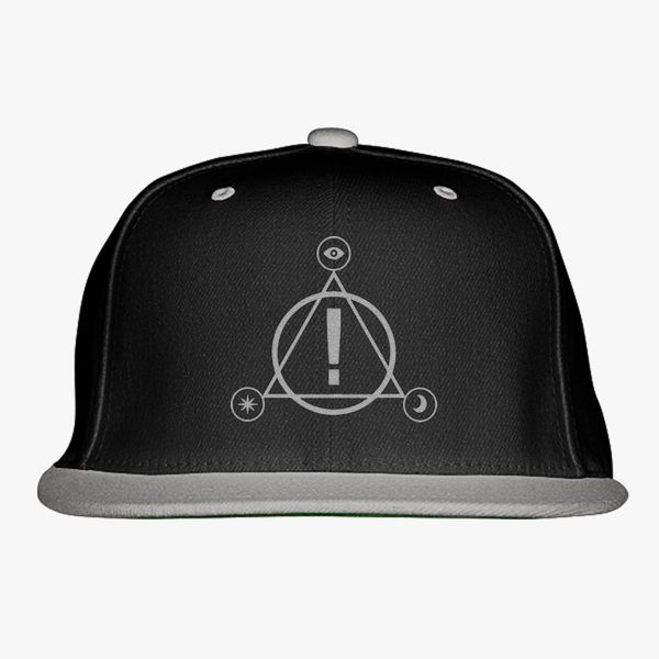 e59359abd Panic at the Disco Snapback Hat (Embroidered) - Customon
