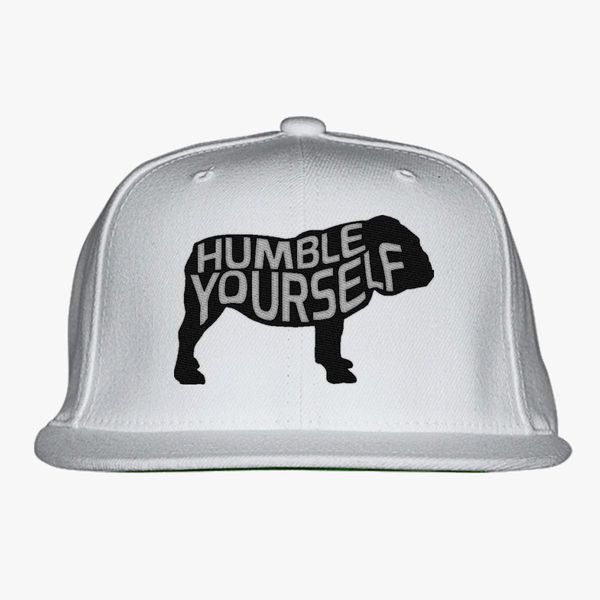 2e5c3907222 UGA Humble Yourself Shirt  Bulldog Snapback Hat (Embroidered ...