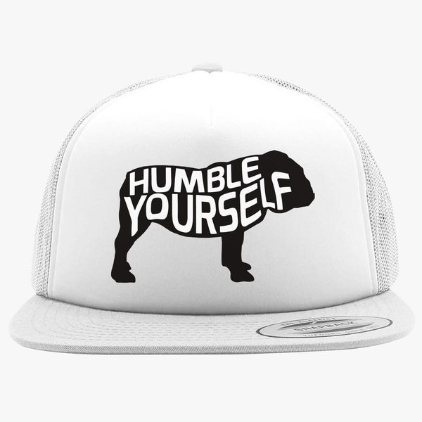 cb6a6cc1441 UGA Humble Yourself Shirt  Bulldog Foam Trucker Hat - Customon