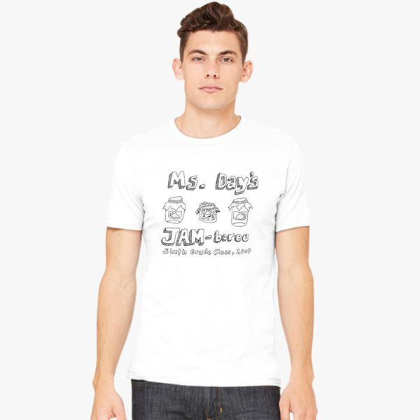 c2b4cf55a617 Ms. Day's Jam-boree 2009 - New Girl Men's T-shirt - Customon