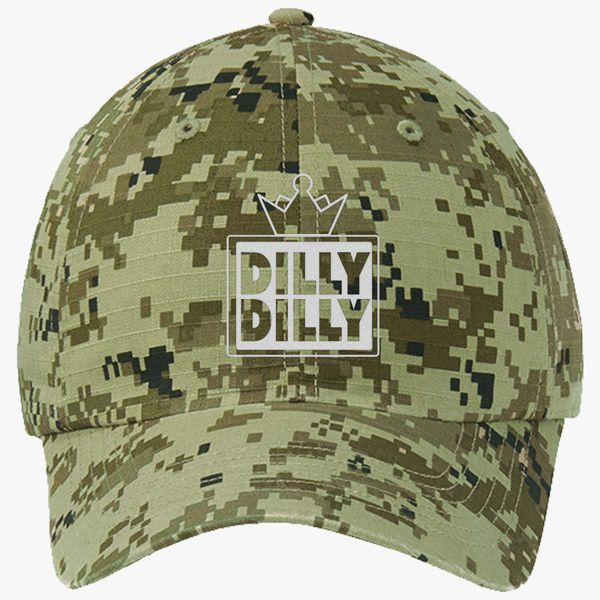 8891c964 Dilly Dilly Ripstop Camouflage Cotton Twill Cap (Embroidered ...