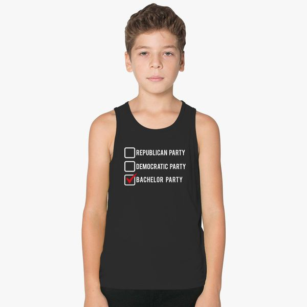 62e0d6a174b23 Bachelor Party Kids Tank Top - Customon