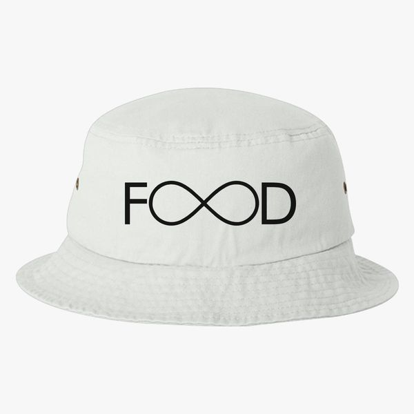 Food Bucket Hat (Embroidered)  6c2f48efa12