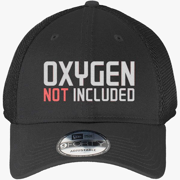 779bd4f74 oxygen not included New Era Baseball Mesh Cap (Embroidered) - Customon