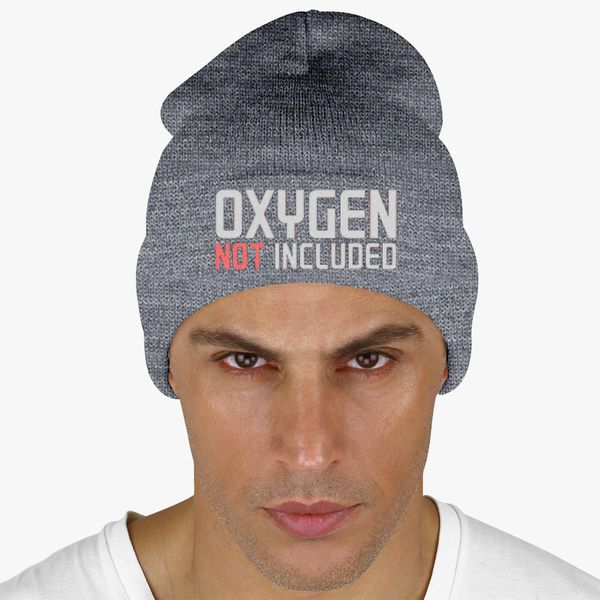 1a13fc19218 oxygen not included Knit Cap (Embroidered) - Customon