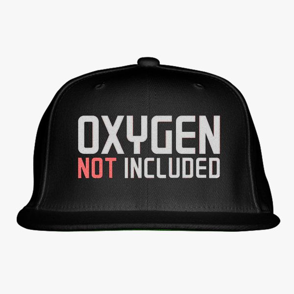 99804c1a8ae oxygen not included Snapback Hat (Embroidered) - Customon