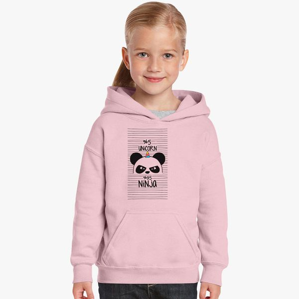 d4d9b76bb77 unicorn ninja panda Kids Hoodie - Customon