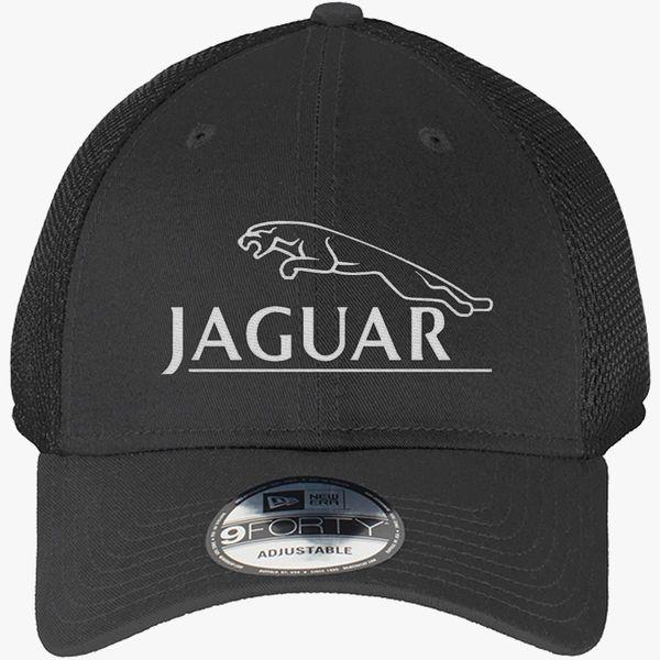 7766d1a8de9ef Jaguar New Era Baseball Mesh Cap (Embroidered) - Customon