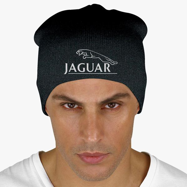 Jaguar custom embroidered logo thinsulate beanie hat BNWT choice of colours