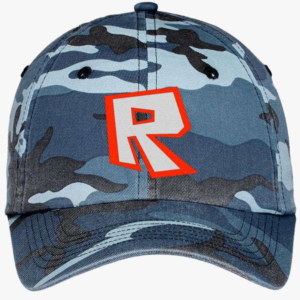 Roblox Camouflage Cotton Twill Cap (Embroidered) - Customon