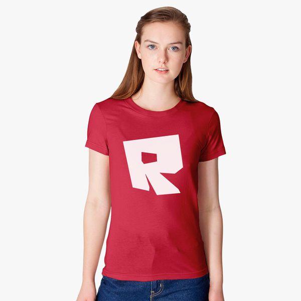 ff3f6bd0 Roblox Logo Women's T-shirt - Customon