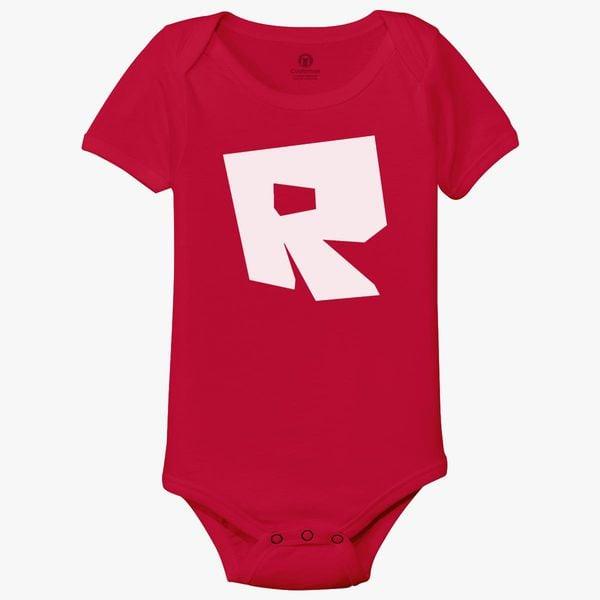 Roblox Logo Baby Onesies - Customon
