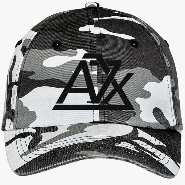 6ba3f58871fa6 Avenged Sevenfold Camouflage Cotton Twill Cap (Embroidered ...