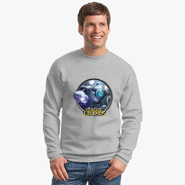 bcb8d73c1b5d LoL League of Legends Blitzcrank Crewneck Sweatshirt - Customon