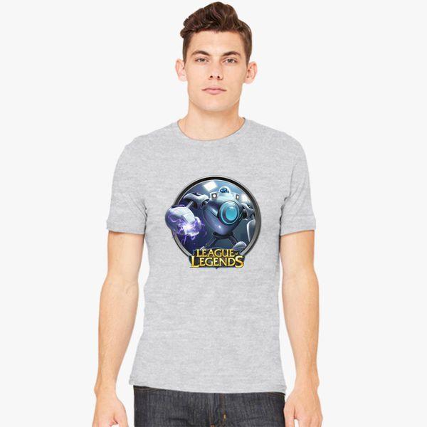 33b04537d4b6 LoL League of Legends Blitzcrank Men's T-shirt - Customon