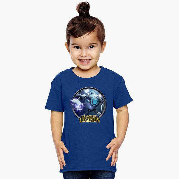 cadbbbfff6f6 LoL League of Legends Blitzcrank Toddler T-shirt - Customon