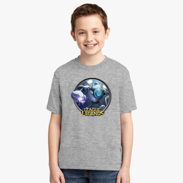 218ec0d80bb5 LoL League of Legends Blitzcrank Youth T-shirt - Customon