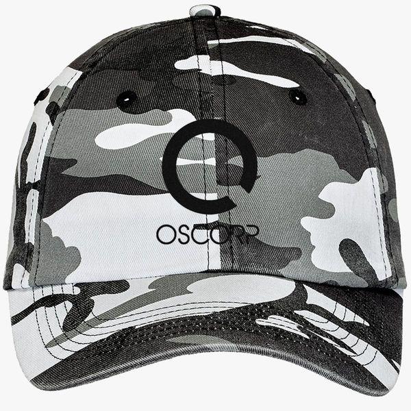 Oscorp Industries Camouflage Cotton Twill Cap (Embroidered) - Customon