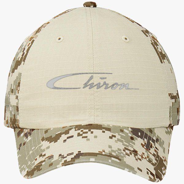 c8a0a82a Chiron Logo Colorblock Camouflage Cotton Twill Cap (Embroidered) - Customon