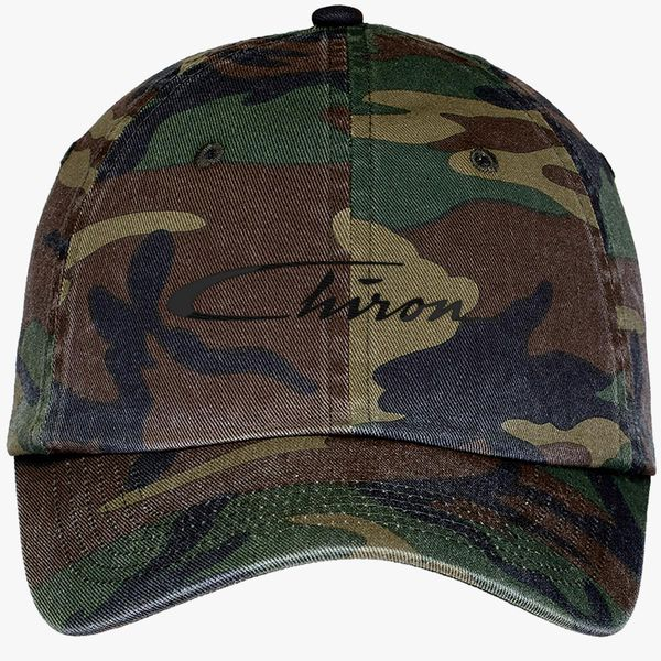b38fff35 Chiron Logo Camouflage Cotton Twill Cap (Embroidered) - Customon