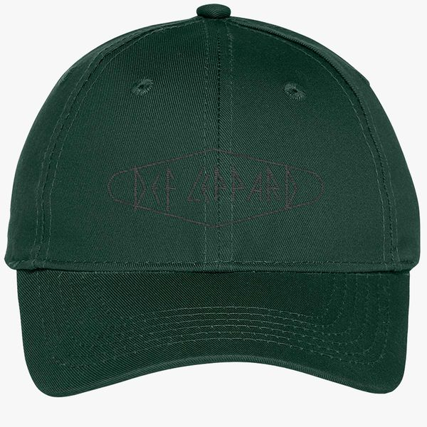 55541f892935a Def Leppard Youth Six-Panel Twill Cap (Embroidered) - Customon